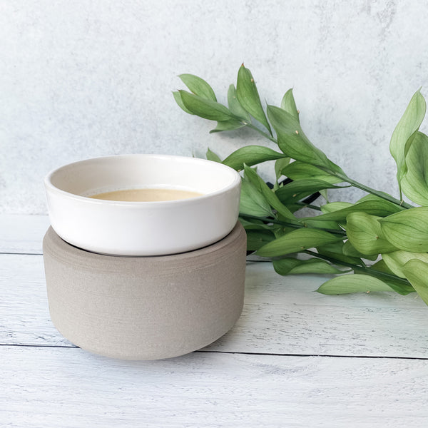 2-in-1 Wax Melter - Gray
