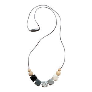 Nursing Necklace 'Appoline', Stillkette, Black