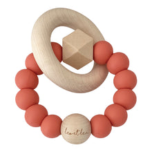 Load image into Gallery viewer, Hexa Baby Teether, Coral