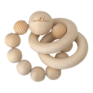 Saturn Baby Teether, All Wood