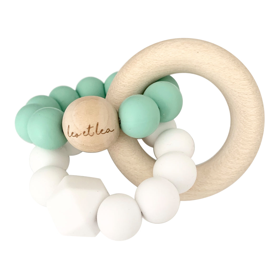 Duo Baby Teether, Mint