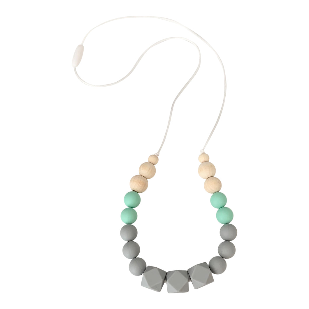 Nursing Necklace, Stillkette, Juna, Mint