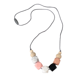 Nursing Necklace 'Appoline', Stillkette, Rosa