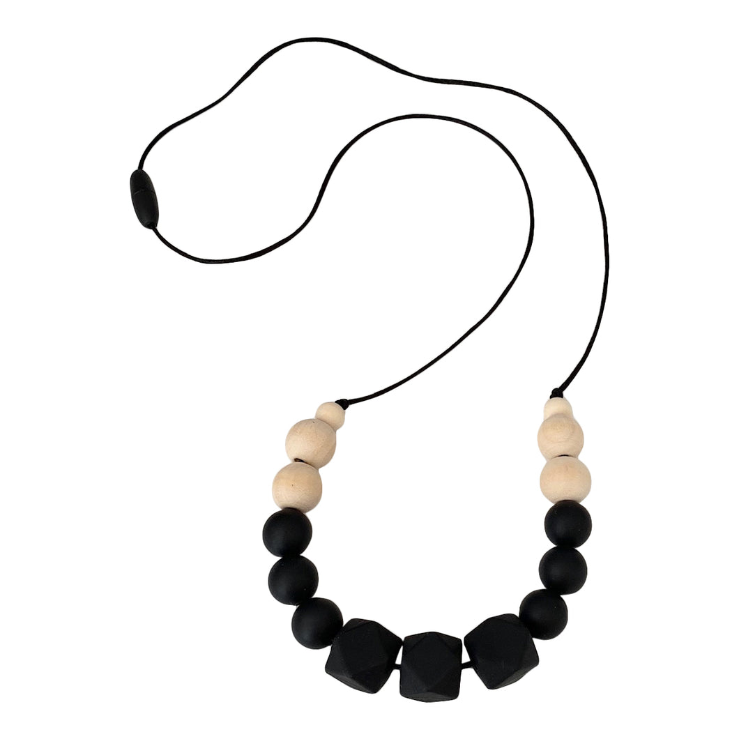 Nursing Necklace, Stillkette, Juna, Black