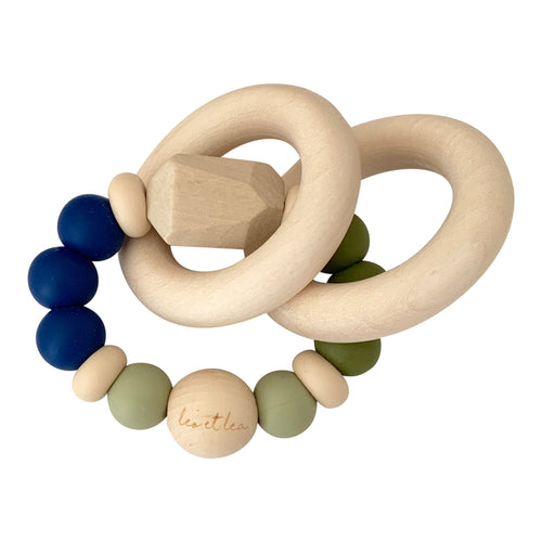 Chew Baby Teether, Blue