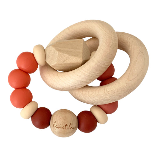 Chew Baby Teether, Coral