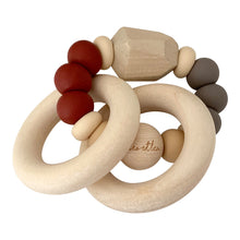 Load image into Gallery viewer, Chew Baby Teether, Prune, Wood