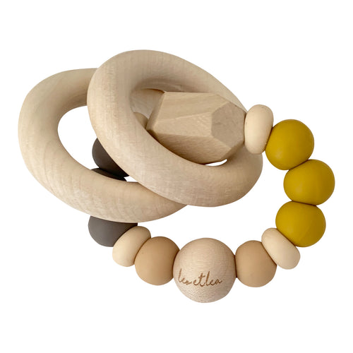 Chew Baby Teether, Mustard
