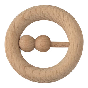Teether, All Wood, Rattle