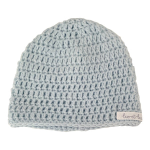 Bonnet, Wool, Blue