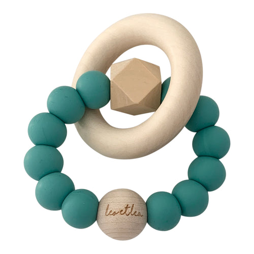 Hexa Baby Teether, Ocean Blue