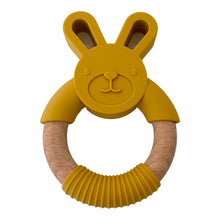 Load image into Gallery viewer, Rabbit Teether, Mustard