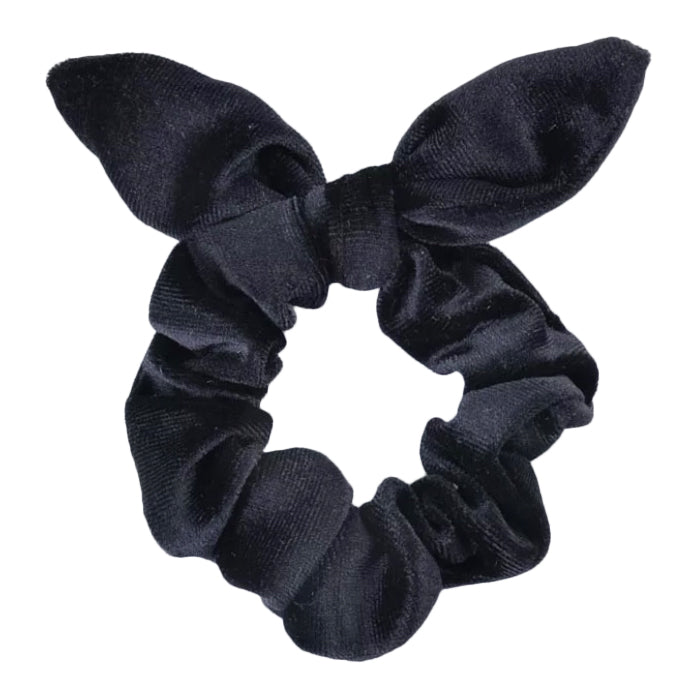 Scrunchy Velour, Black