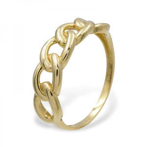 Ring 'Chain', gold