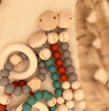 Load image into Gallery viewer, Hexa Baby Teether, 'Sunset Collection', Taupe