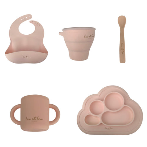 Set Tableware, Dusty Rose, L