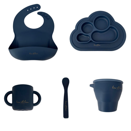 Set Tableware, Deep Blue, L