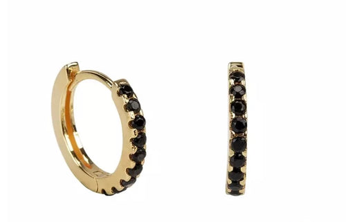 Hoop Earrings 'Jolie', Creolen, gold