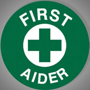 AeroSupplies 5 Sheets First Aider Self-Stick Vinyl 10% GST