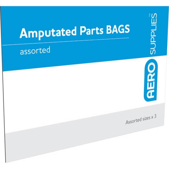 house-of-first-aid,AEROSUPPLIES Amputated Parts Bags 10% GST,Aero healthcare,Amputated Parts Bags