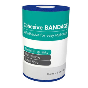 house-of-first-aid,AeroBan Cohesive Bandages 10 cm x 4.5 M 10% GST,Aero healthcare,Cohesive Bandage