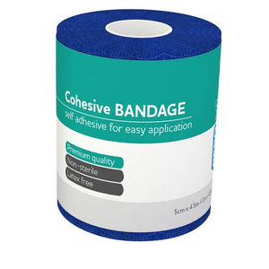 house-of-first-aid,AeroBan Cohesive Bandages 5cm x 4.5 M 10% GST,Aero healthcare,Cohesive Bandage
