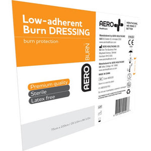 house-of-first-aid,AeroBurn Low Adherent Burn Sheets 220 cm x 75 cm 10% GST,Aero healthcare,Low Adherent Burn Sheets