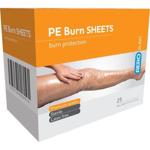 house-of-first-aid,AeroBurn Polyethylene Burn Sheets 60 cm x 90 cm 10% GST,Aero healthcare,Polyethylene Burn Sheet