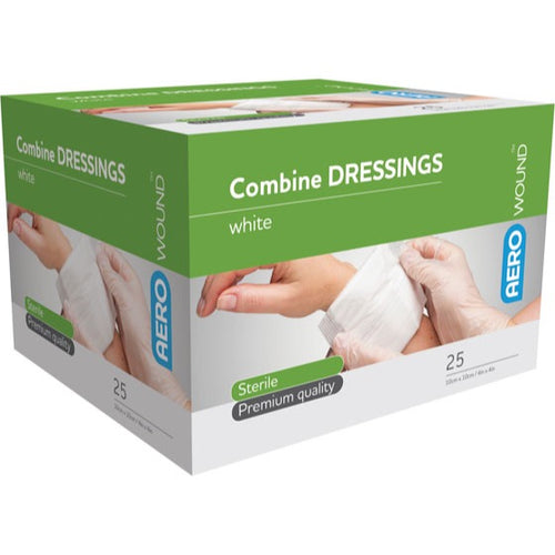 house-of-first-aid,AeroWound Combine Dressings 10 cm x 10 cm 10% GST,Aero healthcare,First Aid
