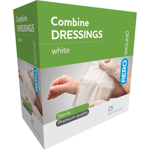 house-of-first-aid,AeroWound Combine Dressings 20 cm x 20 cm 10% GST,Aero healthcare,First Aid