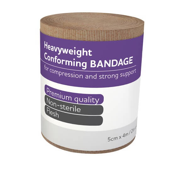 house-of-first-aid,AeroForm Heavyweight Conforming Bandages 5 cm x 4 M 10% GST,Aero healthcare,Conforming Bandages