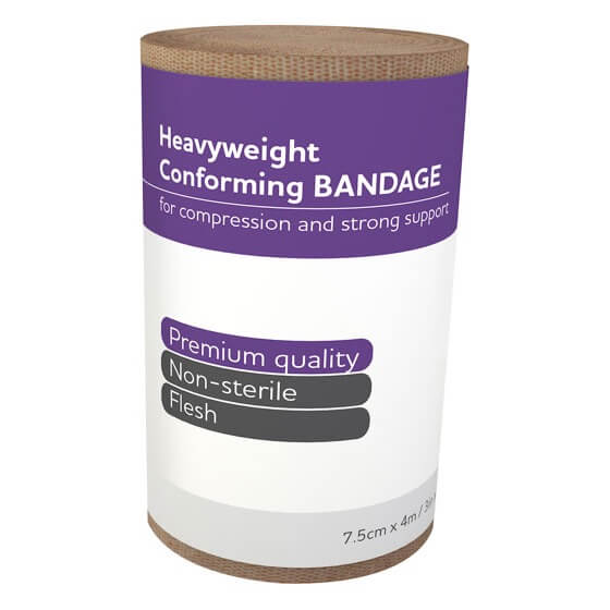 house-of-first-aid,AeroForm Heavyweight Conforming Bandages 7.5 cm x 4 M 10% GST,Aero healthcare,Conforming Bandages