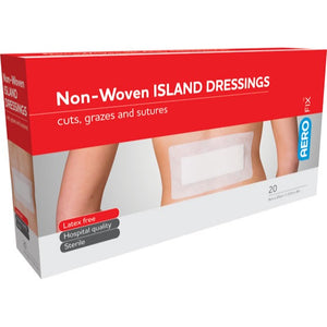house-of-first-aid,AeroFix non-woven Island Dressings 10 cm x 20 cm Box/20 10% GST,Aero healthcare,Adhesive Dressing