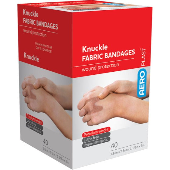 house-of-first-aid,AeroPlast Premium Fabric Bandages – Knuckle Dressings 10% GST,Aero healthcare,ADHESIVE BANDAGES