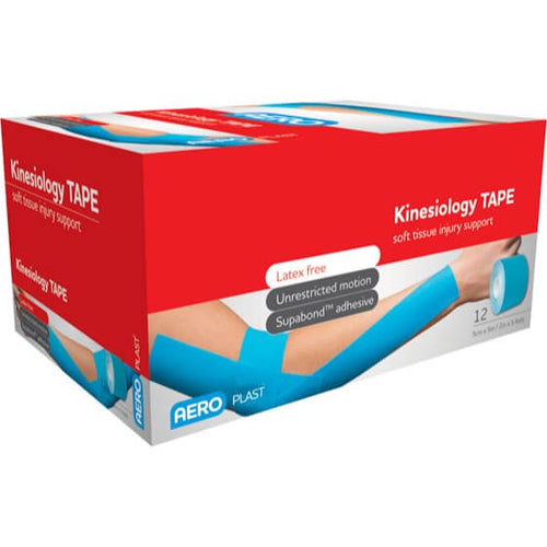 house-of-first-aid,AeroPlast Sports Tapes Kinesiology Tape 5 cm x 13.7 M 10% GST,Aero healthcare,Sports Tape