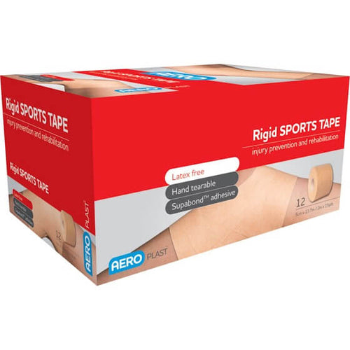 house-of-first-aid,Latex Free Ridgid Tape 5 cm x 13.7 M 10% GST,Aero healthcare,Sports Tape