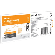 Load image into Gallery viewer, house-of-first-aid,AeroPlast Wound Closure Strips – Cards of 3,Aero healthcare,Adhesive Dressing