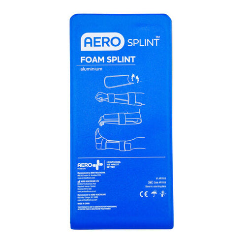 house-of-first-aid,Aluminium Foam Splints Large Flat 10% GST,Aero healthcare,Aluminium Foam Splints