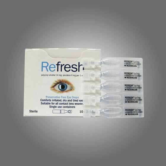 house-of-first-aid,Refresh Eye Drops box/10,Aero healthcare,Eye Drops