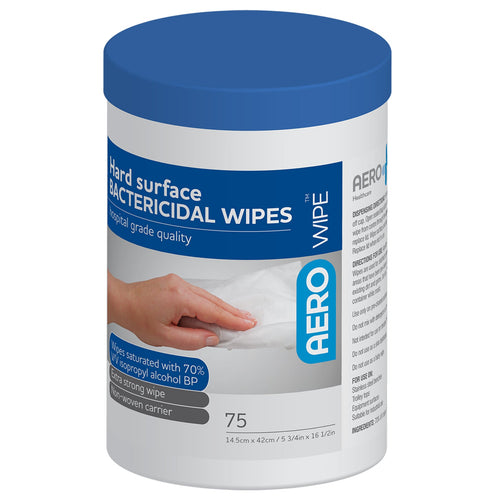 house-of-first-aid,AeroWipe Hard Surface Disinfectant Wipes 10% GST,Aero healthcare,Cleansing Wipes