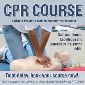 house-of-first-aid,HLTAID001 Cardio Pulmonary Resuscitation GST Free,House of First Aid,