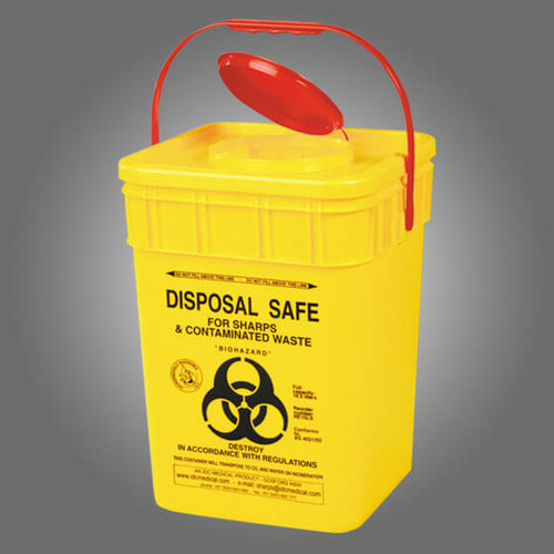 house-of-first-aid,Sharps Disposal Container 23L 10% GST,Aero healthcare,Sharps Disposal