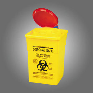 house-of-first-aid,AeroHazard Sharps Disposal Container 2L 10% GST,House of First Aid,Sharps Disposal