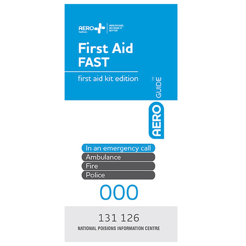 house-of-first-aid,AeroGuide First Aid Leaflet,Aero healthcare,First Aid Leaflet