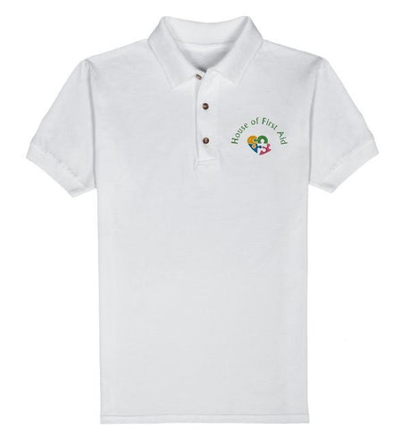 house-of-first-aid,Mens Polo Shirt,House of First Aid,Polo Shirts