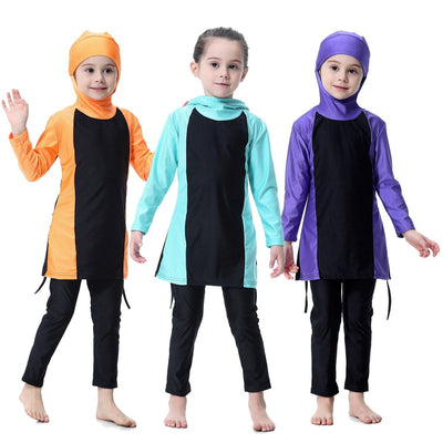 muslim-spirit - Hisea Modest Swimwear - Children's Clothing