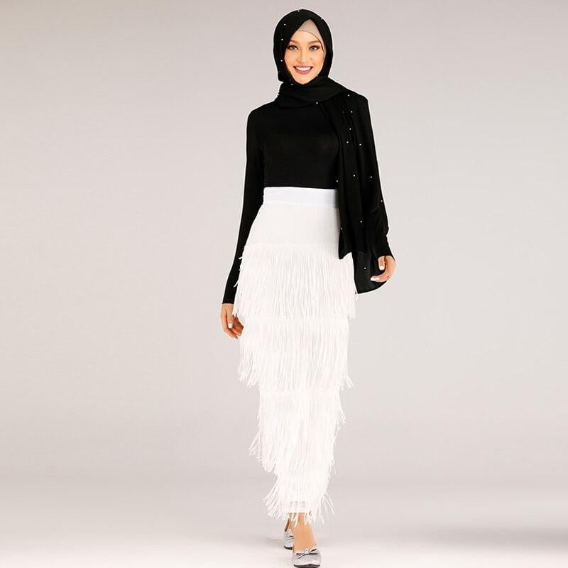 Tassel Long Skirt