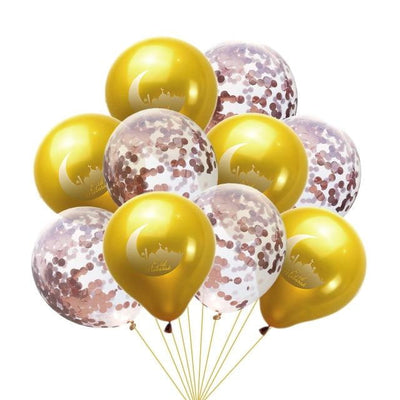 Daamir Eid Mubarak 10PC Balloon Pack