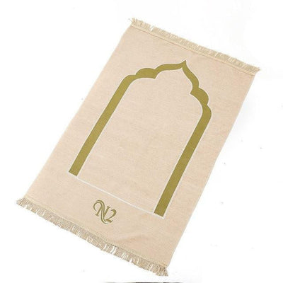 muslim-spirit - Flannel Prayer Mat - Hajj & Umrah Essentials