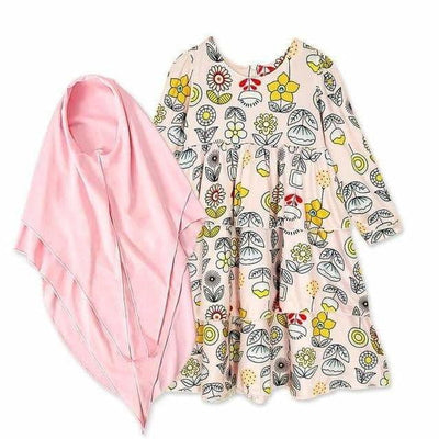 Cantik Style Children's Dress  -  Children's Clothing  -  Muslim Spirit